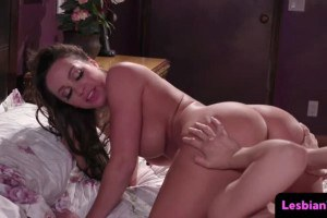 Abigail Mac gets very naughty with MILF lesbo Sarah Vandella