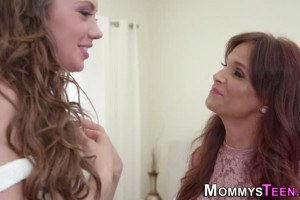 Elena Koshka is about get down on stepmom Syren de Mer's pussy