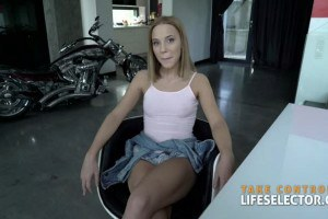 Poppy Pleasure likes a big POV cock