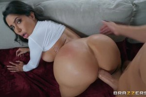 Lela Star big ass anal and creampie with her fuck buddy
