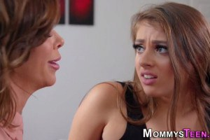Gia Derza is about to get rimmed by stepmom Alexis Fawx