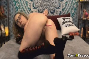 Dirty Talking MILF with Big Titties on a Webcam