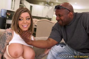 Karma Rx Gets All Her Holes Pounded By Big Black Cocks