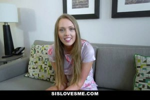 Ashley Red likes playing with stepbrother's schlong