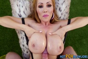 Kink hot mom snake sucking cock point of view style