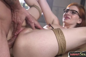 Maya Kendrick prison paralegal gets fucked in the ass