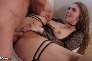 Lena Paul beautiful cock addict cums multiple times