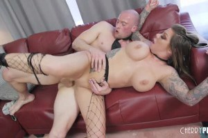 Karma Rx Big Tit Blonde Craves To Be Fucked Hard In Her Shaved Pussy