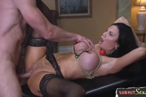 Jasmine Jae busty MILF gets dominated and drilled