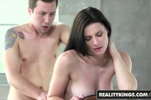 Kymberlee Anne beautiful brunette auditions for sex