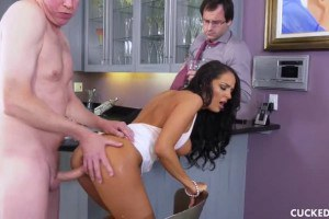 Sofi Ryan's Husband Cannot Pleasure Her So She Seduces His Friend