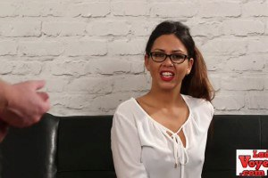Spex beauty laughs at pipe jacking sex slave