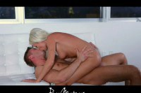 Enticing blonde cougar fucked sensually