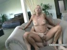 Horny blonde mature in deep fuck