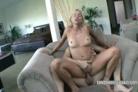 Horny blonde mature in deep fuck
