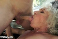 Wrinkled granny getting fucked
