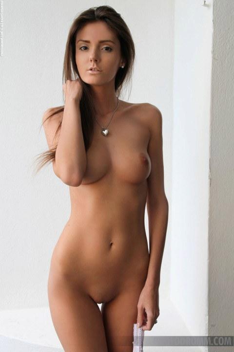 Naked short petite female