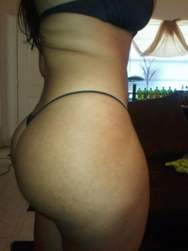 Sexy Thick Latina Ass Booty