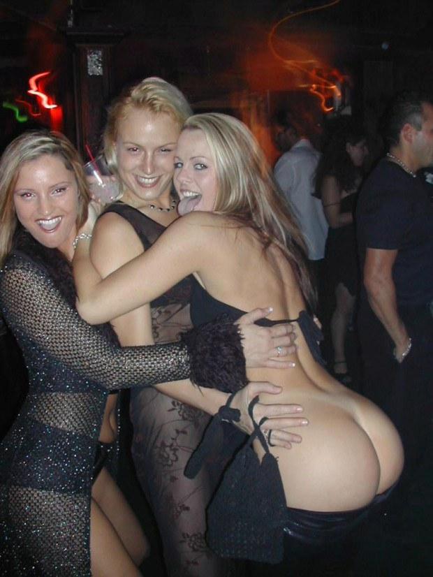 Hot ass amateurs having fun at a party