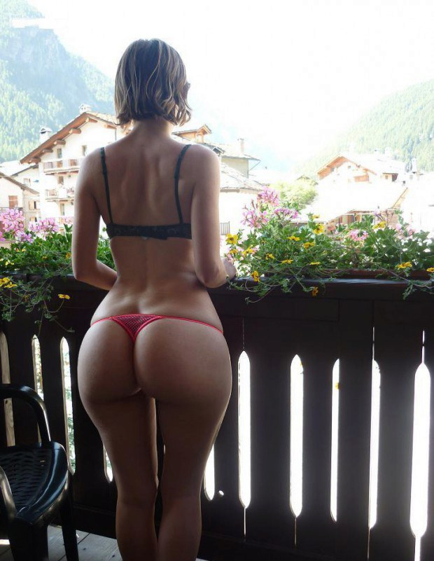 European amateur has the most beautiful ass