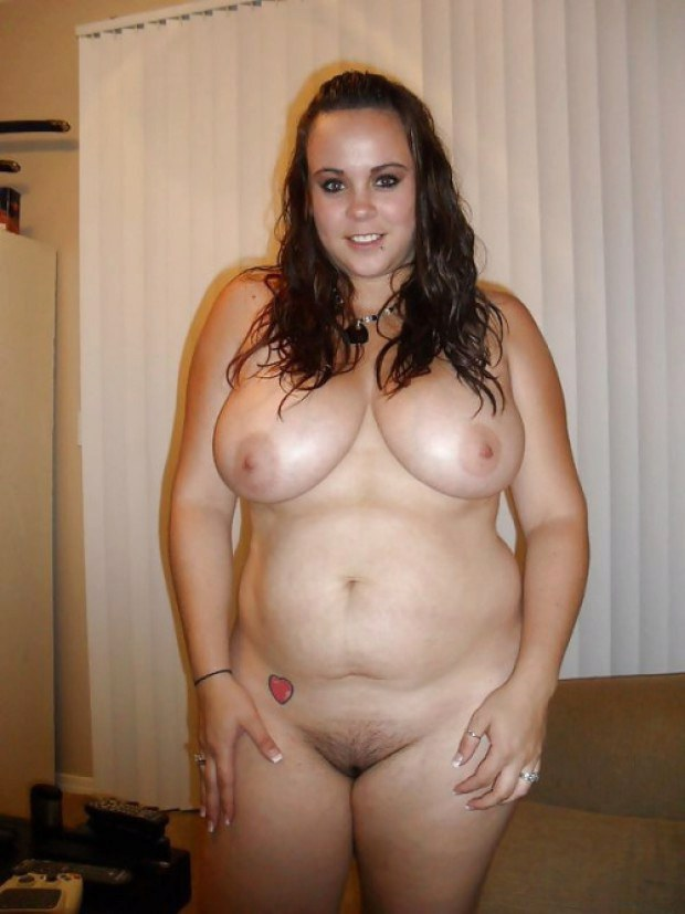 BBW babe teases with her melons