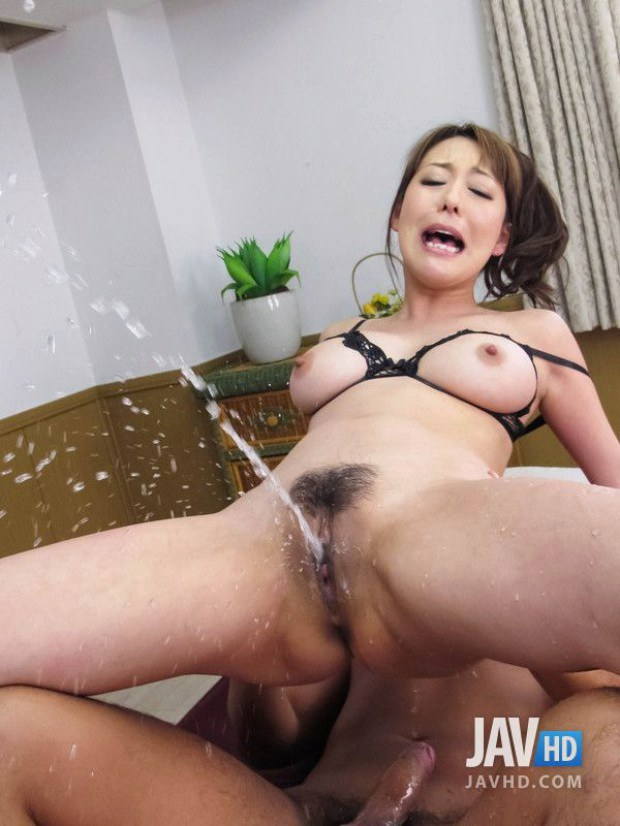 Japanese squirting anal