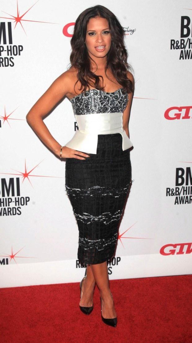 Rocsi Diaz looks fantastic in that dress