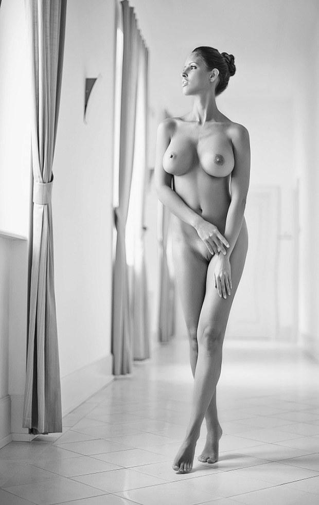 Tall thin busty