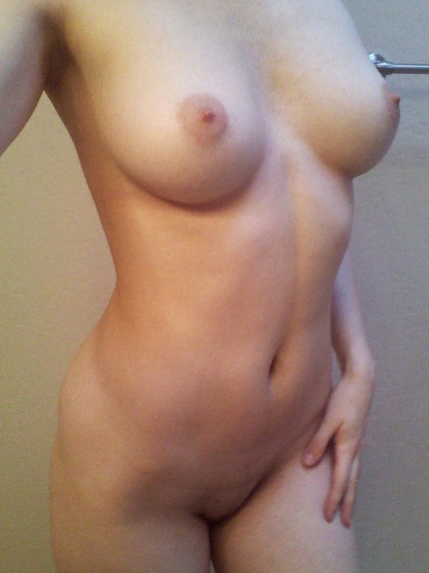 Appetizing amateur has perfect boobs