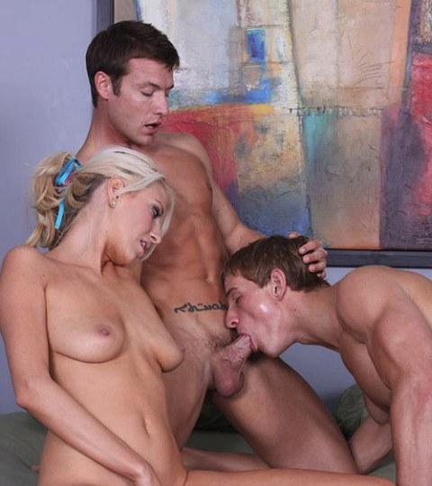 Austin seduces a hung straight twink