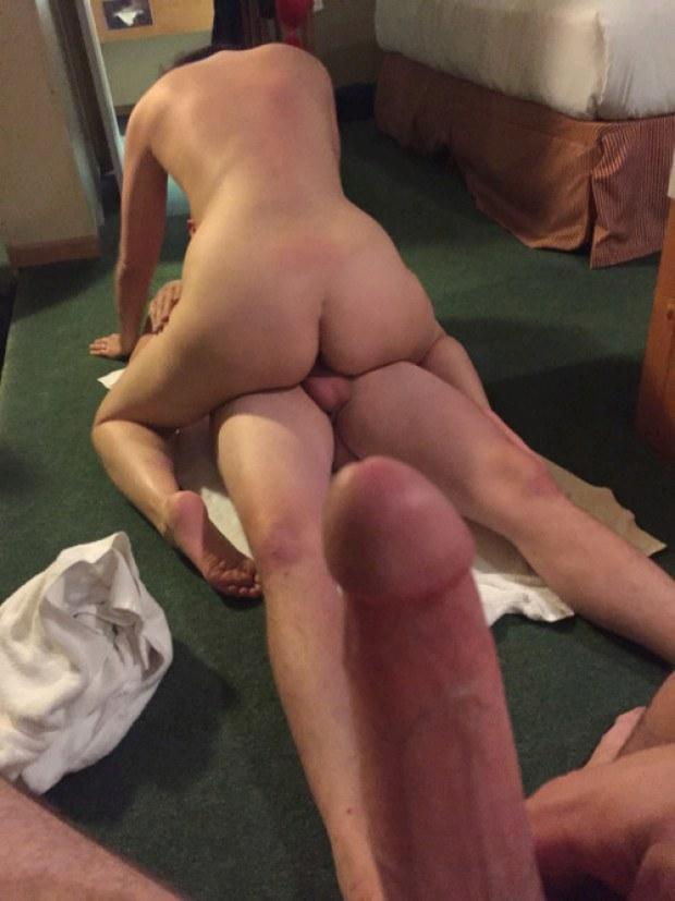 Watching my girlfriend getting fucked