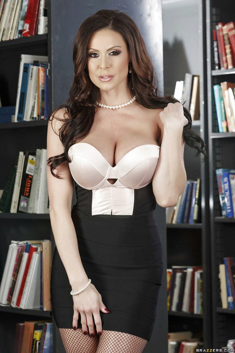 classybustysexy · Dreamy MILF librarian teases with her perfect body