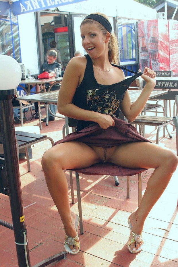 Naughty upskirt photos