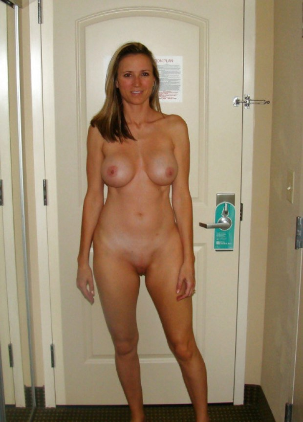 hotel room blonde in Naked