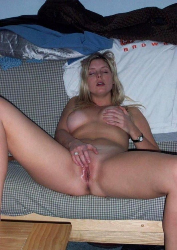 Pussy blonde wife