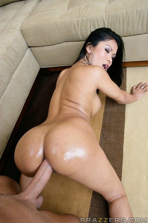 Filthy Asian Hoe Takes It In The Butt-9744