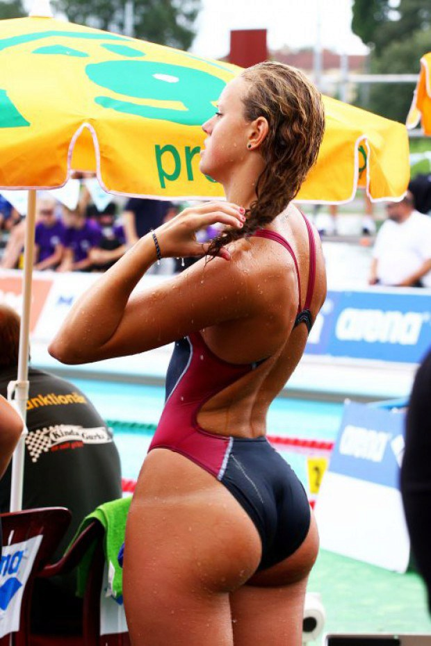 Latina athlete has a really nice ass