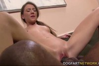 Alison Faye nailed by a huge cock