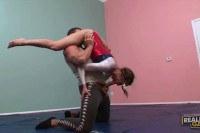 Flexible young babe