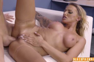 Juelz Ventura gets her beautiful ass fucked so hard