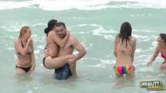 Public beach babes
