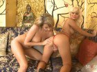 Zoe Fox and Lola get into lesbian action together