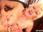 Blonde granny in fisting and deep fuck