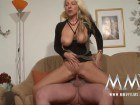 Superb German housewife gets fucked at the office