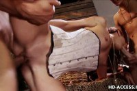 Brandi Lyons in threesome and anal
